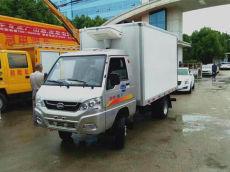 广州凯马冷藏车的配置和价格