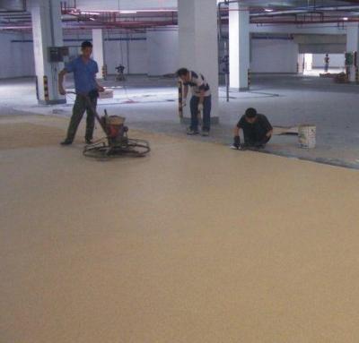 什么是环氧树脂彩砂地坪漆如何施工