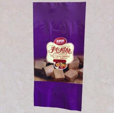 威化饼干镀铝包装袋芝士饼站立铝箔袋