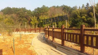苏州仿木护栏厂家 水泥仿石栏杆多少钱一米
