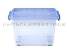 台州黄岩模具工厂专业透明收纳箱模具定制制