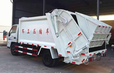 哈尔滨16方压缩式垃圾车哪里买