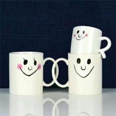 描金陶瓷马克杯订做 大理石纹陶瓷马克杯
