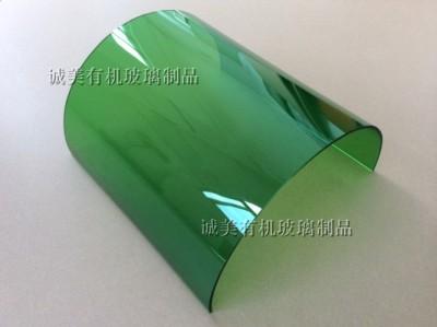 亚克力拱形弯折 有机玻璃半圆热弯 塑料弯折