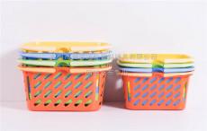 塑料周轉筐開模加工制造籃子模具定制廠家公