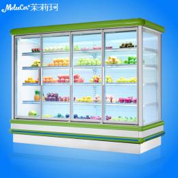 冰柜品牌哪个好欧款外机水果柜价格风幕柜