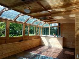 洛陽頂層露臺設計玻璃頂陽光房哪種材質安全