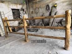 黄冈水泥仿树藤护栏造价施工