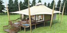 度假酒店篷房户外露营帐篷