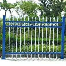 广西崇左双横围墙锌钢护栏丨宾阳柳州铁艺栏