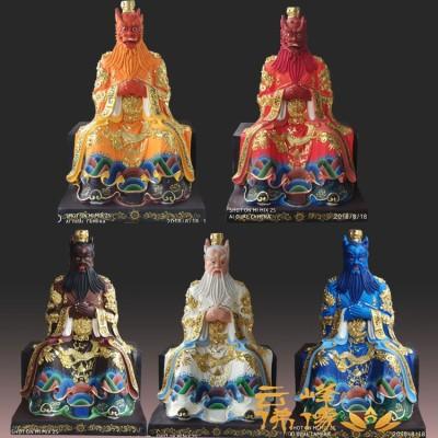 东海龙王佛像雕塑大型公司 五帝龙王神像厂