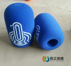 絲印logo話筒套 防風海綿罩 話筒防風海綿