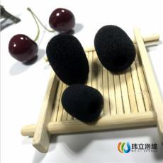 商务电话耳机耳麦 丝印logo麦克风海绵套