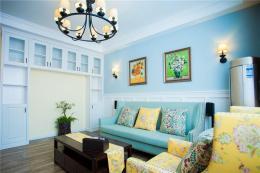 南京学区房装修100平混搭二居室案例