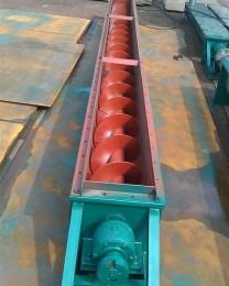 高性能螺旋输送机圣迪定制无轴螺旋输送机
