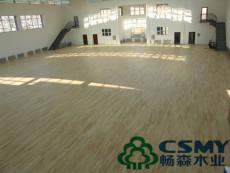 优质实木运动木地板生产的工序