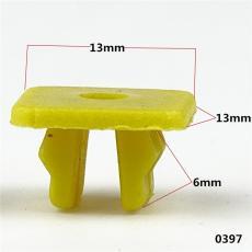汽車通用黃燈扣 快絲釘座 尼龍黃燈扣高矮