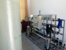 GMP认证用纯化水设备工艺流程