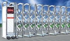 天津不锈钢伸缩门厂家 安装不锈钢伸缩门