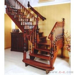 上海实木楼梯首选意心楼梯家居