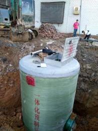 推荐全新特大型一体化预制泵站