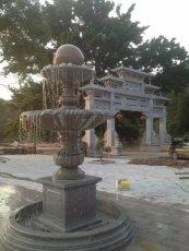 大理石風水球 風水球噴泉 景觀流水雕塑