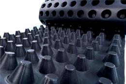 车库种植塑料排水板 楼顶种植塑料排水板