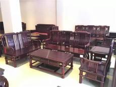 西安紅木沙發電視柜批發 實木沙發六件套廠