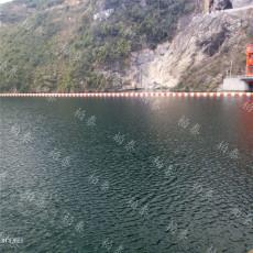 水库拦漂系统设计 塑料拦漂排装置
