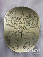 青古铜铝板雕刻拉手定做异形拉手厂家