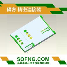 自弹SIM卡座入板式