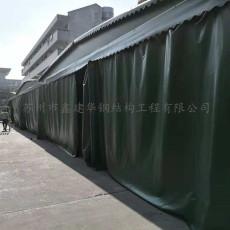 吴江黎里镇供应移动推拉棚 物流活动雨篷