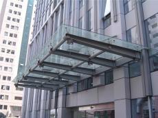 陜西玻璃雨篷設計施工