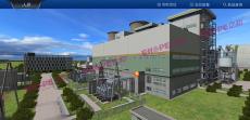 电厂三维可视化仿真场景模型制作