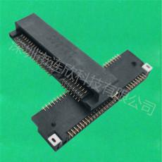 MINI PCI 连接器52PINPCIE座子连欣现货供应