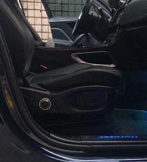 捷豹安装鑫易得汽车座椅电动腰托