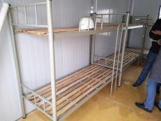 合肥鐵架子床加厚方柱雙層床宿舍上下鋪床銷