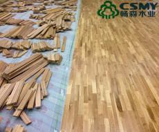 公司拥有专业运动木地板生产工厂和大量仓储