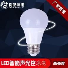 LED智能声光控球泡厂家现在