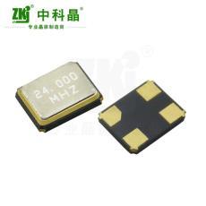 中科晶供應 諧振器3225 24MHz貼片晶振