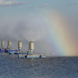 河?#27893;?#21270;工污水处理蒸发塘 机械雾化蒸发器