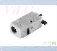沉板3P貼片 白色大電流DC電源插座 DC-00950