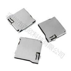 TF卡座性能特征TF卡座规格图纸大全