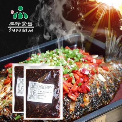 供应安徽三珍食品烤鱼酱 直销香辣味酱汁