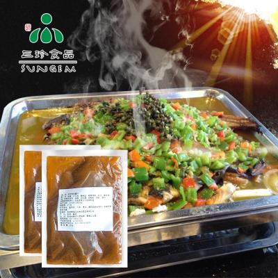 供应安徽三珍食品烤鱼酱 厂家直销青花椒味