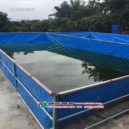 帆布鱼池 定制龟池锦鲤池 运输海鲜帆布池