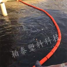 水上警戒线浮筒塑料垃圾拦截系统