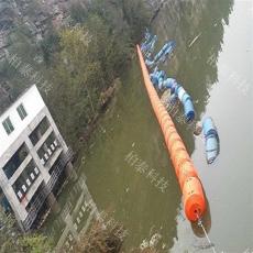 河道垃圾自动拦截系统浮式拦污排制造商