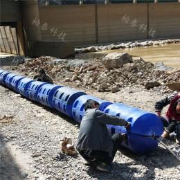 水下掛網攔垃圾浮筒供應商