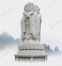 惠安石雕佛像定制 三面观音净瓶送子神像